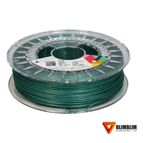 PLA-Glitter-Verde-Smartfil-Green-Blimblim3D