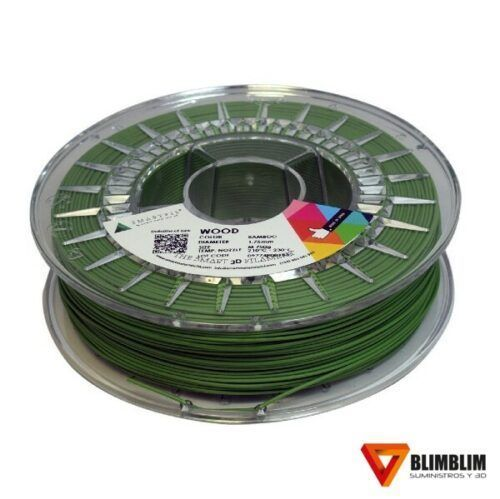 PLA-WOOD-Smartfil-Verde-Bamboo-Blimblim3D
