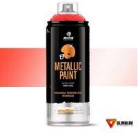Spray-Efecto-MEtal-Rojo-Postprocesado-Metalico