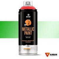 Spray-Efecto-Metal-Verde-Postprocesado-Metalizado