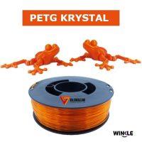 PETG Krystal Winkle Ambar